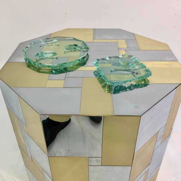 Pietro Chiesa for Fontana Arte Dodecagon Crystal Ashtray For Sale 8