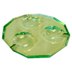 Pietro Chiesa for Fontana Arte Dodecagon Crystal Ashtray