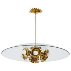 Pietro Chiesa for Fontana Arte Rare Chandelier