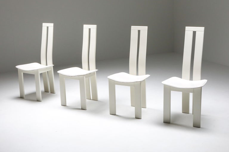 Post-Modern Pietro Costantini Dining Chairs For Sale