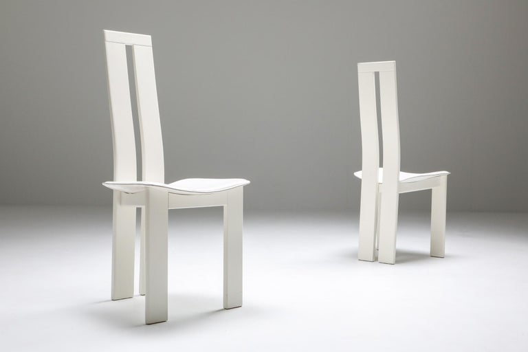 Lacquered Pietro Costantini Dining Chairs For Sale