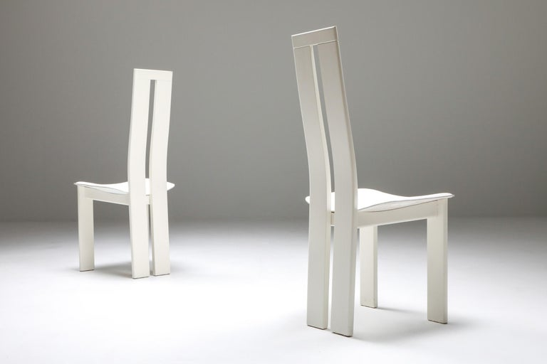Pietro Costantini Dining Chairs In Good Condition For Sale In Antwerp, BE