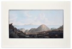 Landscape Campi Phlegraei - Plate XIII - View of Capri - By Hamilton-Fabris