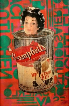 """Pop Art , """"CANNED HEAT - The Ripped Can Series"""", certificate of authenticity"""