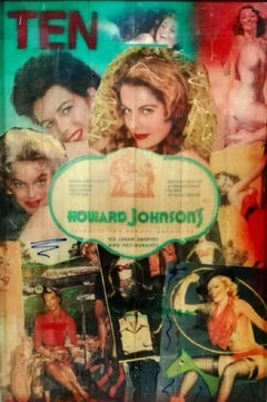 """Pop Art, """"Howard Johnson's 10 out of 10 Series"""", certificate of authenticity"""
