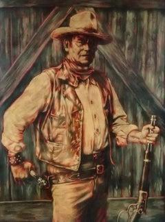 "Pop Art, ""The Duke - John Wayne"" Legends Series, certificate of authenticity"