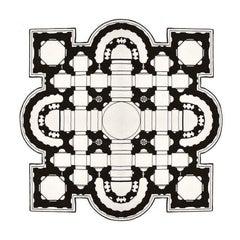 Pietro Square Rug by Muraepezza & Mogg