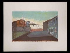 Landscape - Original Lithograph by Pietro Vanni - 1970s