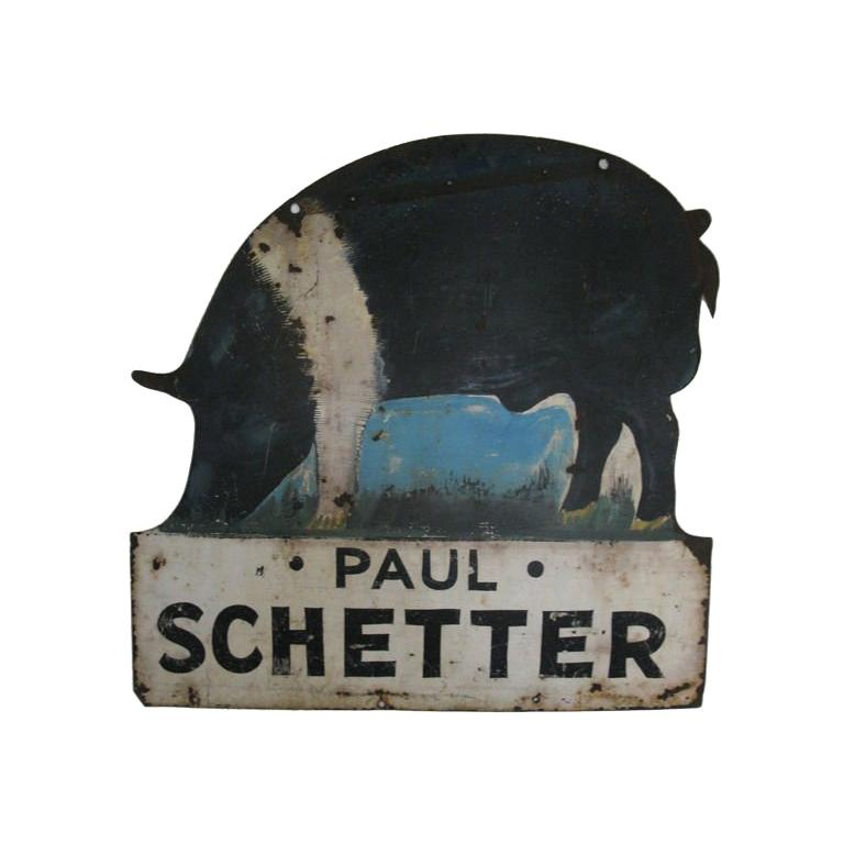 Pig Farm Sign For Sale