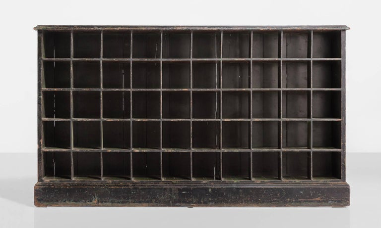 pigeon hole shelving unit  england  circa 1890 for sale at 1stdibs