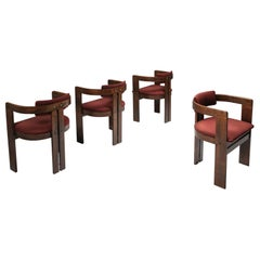 Pigreco Armchairs with Bentwood Frames by Afra & Tobia Scarpa