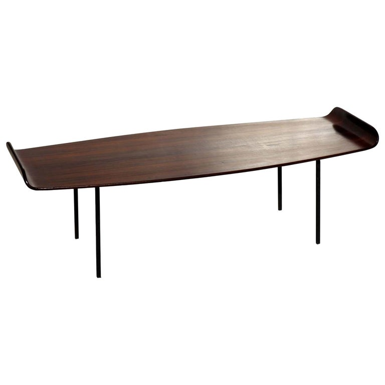 """""""Pilade"""" by Campo & Graffi for Home Italian Design 1950s Midcentury Coffee Table For Sale"""