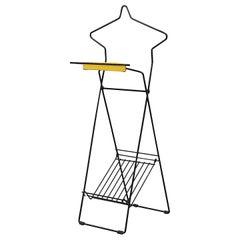 """Pilastro"" Wire Frame Standing Valet"