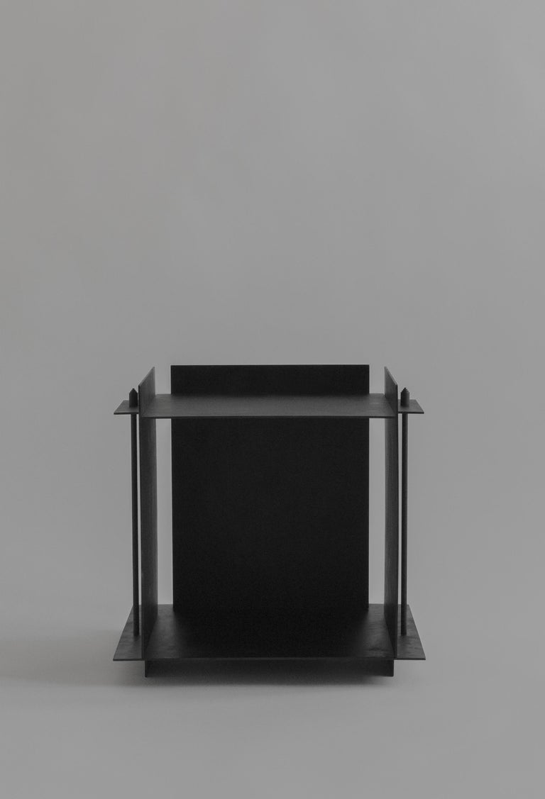 Swedish Pilier Side Table by Sizar Alexis For Sale