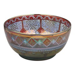 Pilkingtons Royal Lancastrian Bowl, by W.M.S Mycock, 1918