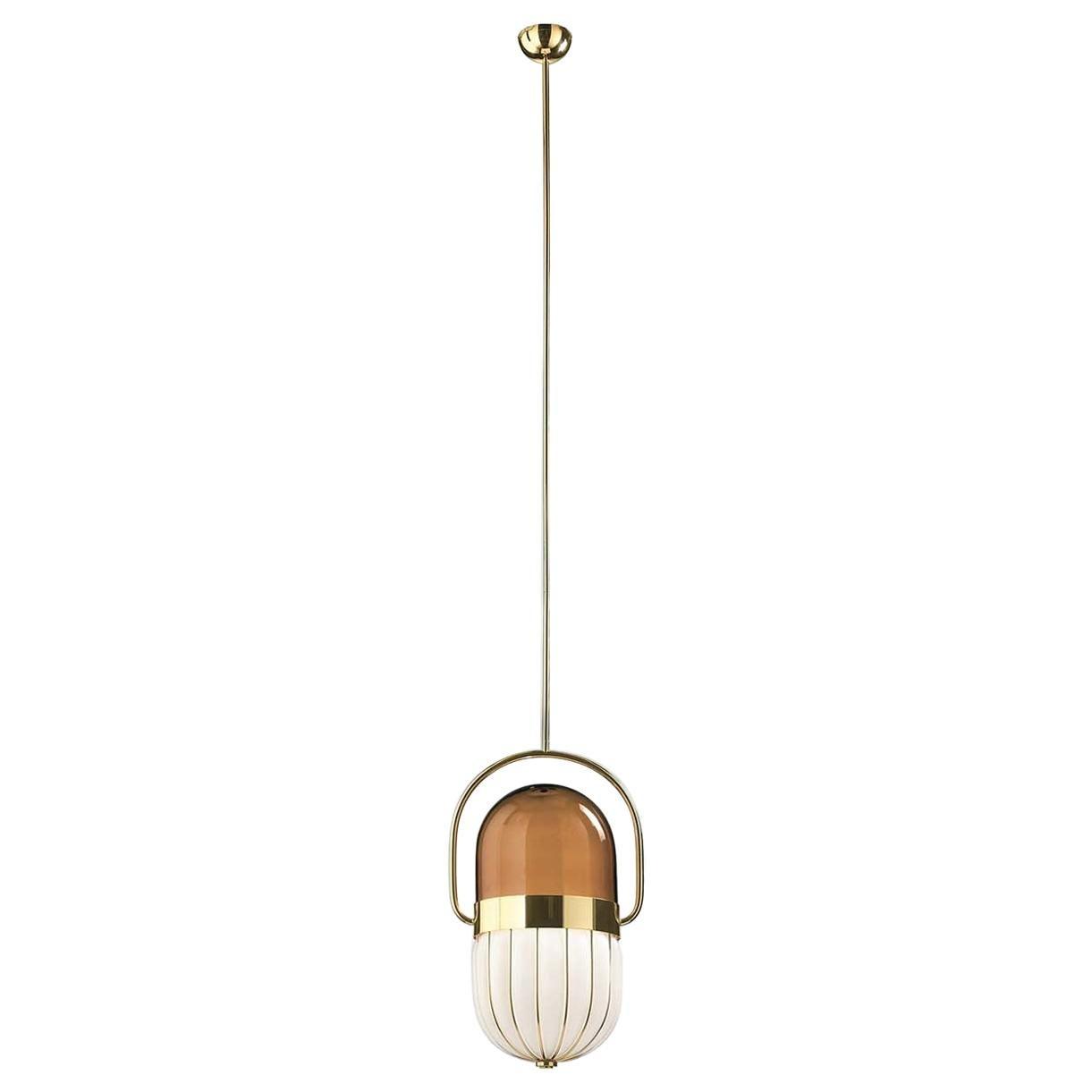 Pill Ceiling Lamp by Matteo Zorzenoni