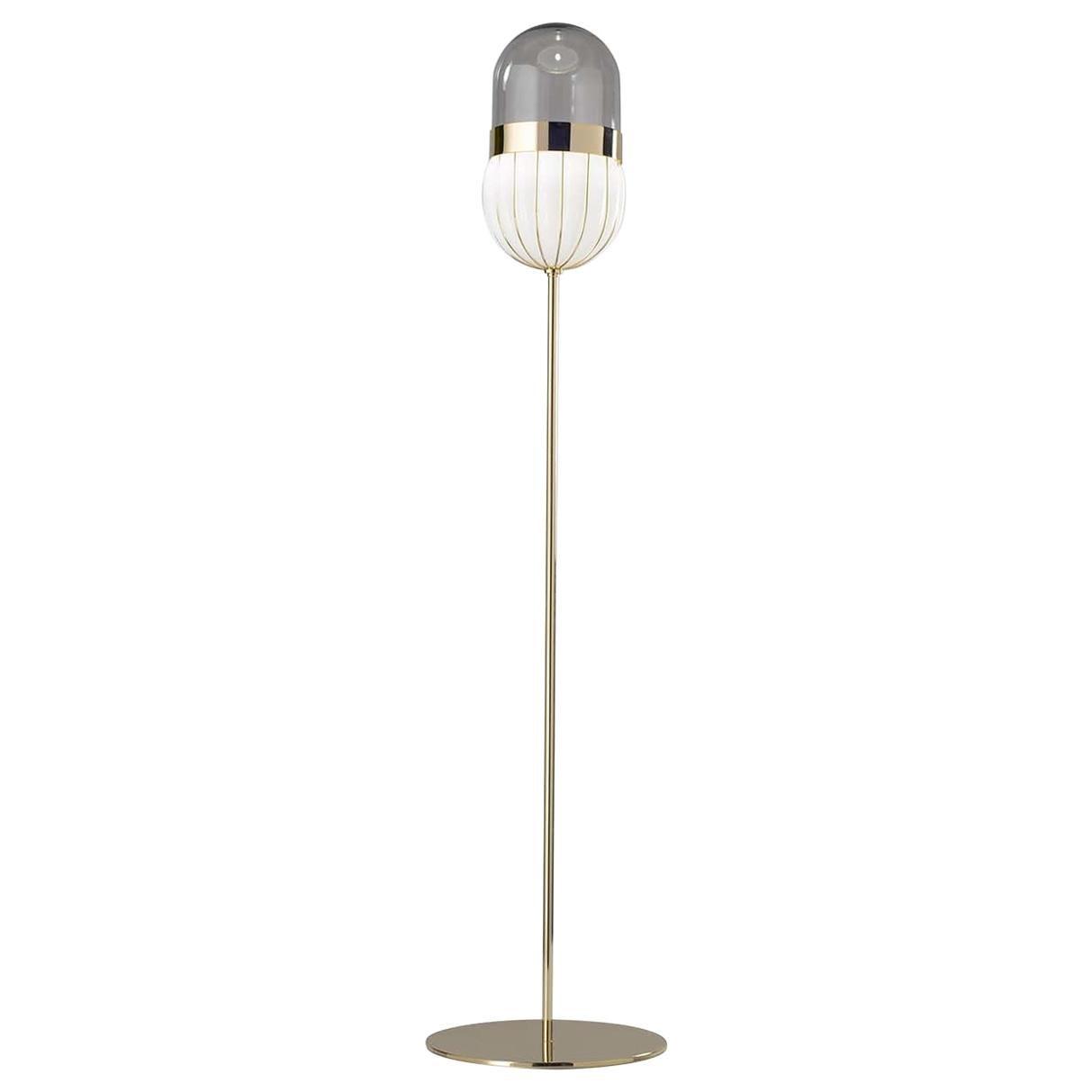 Pill Floor Lamp by Matteo Zorzenoni