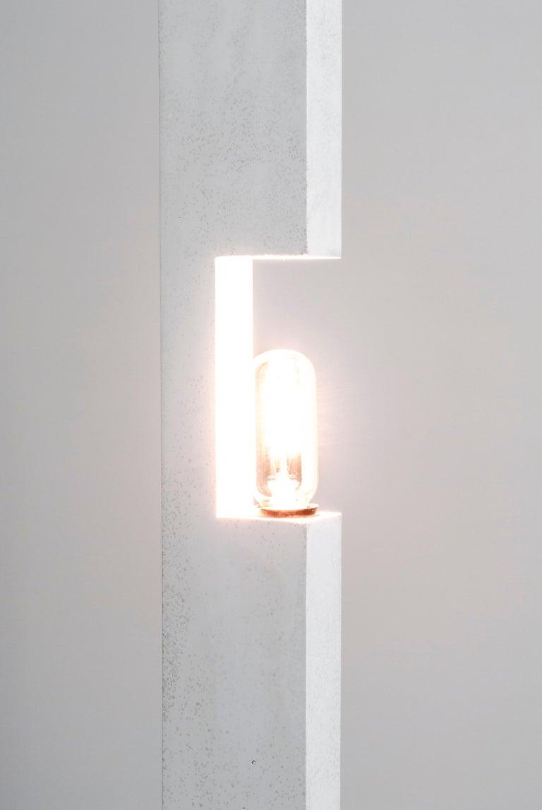 North American Pillar Floor Lamp For Sale