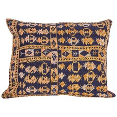 Pillow Case Fashioned from an Early 20th Century Kurdish Djidjim Kilim