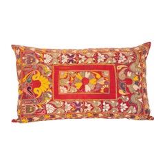 Pillow Case Made from an Early 20th Century Embroidery from Rajastan