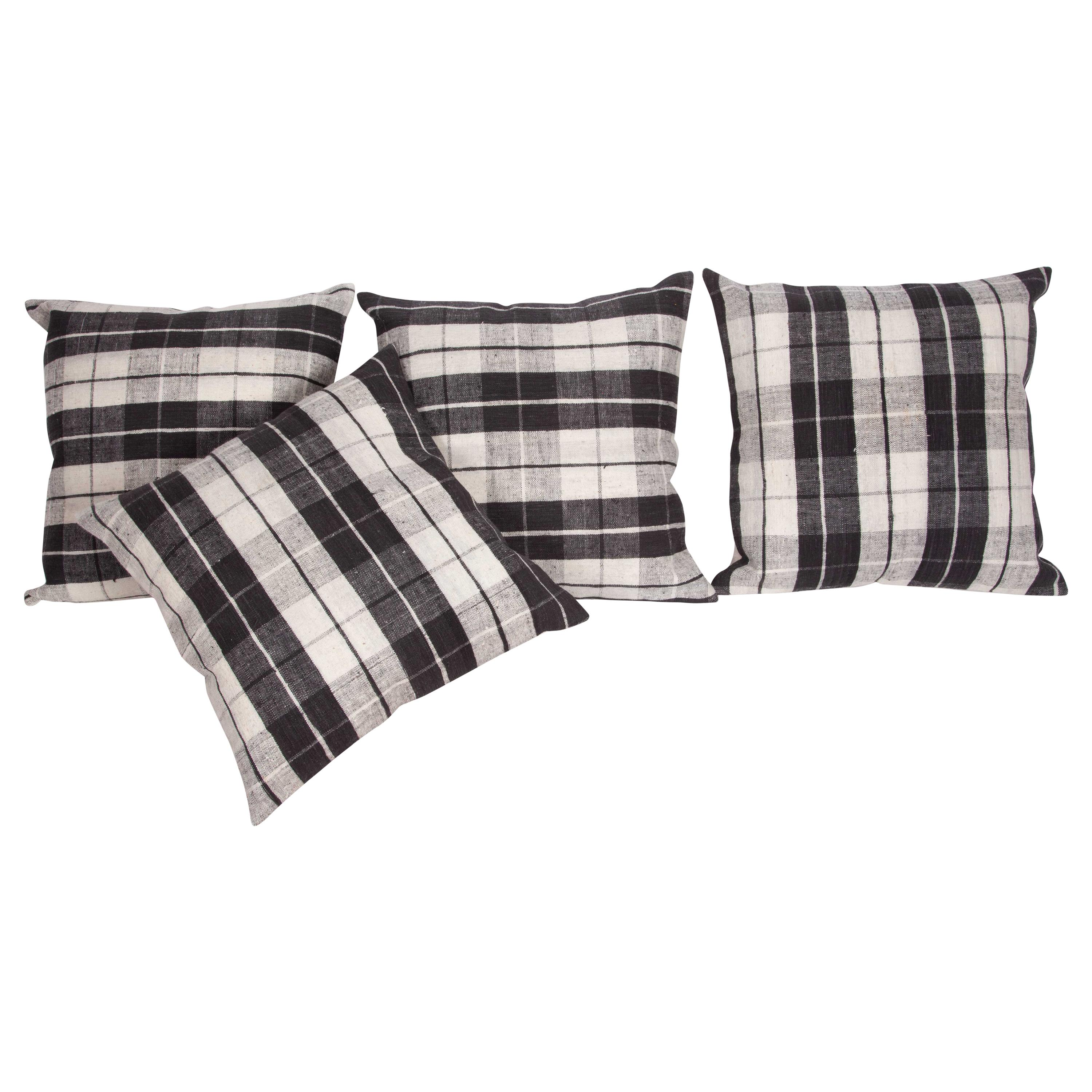 Pillow Cases Fashioned from a Mid-20th Century Anatolian Cotton Cover