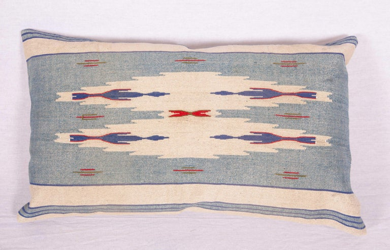 Hand-Woven Pillow Cases Fashioned from an Early 20th Century Syrian Textile For Sale