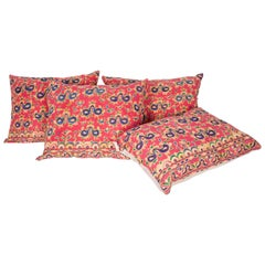 Pillow Cases Fashioned from an Early 20th Century Sind Embroidery