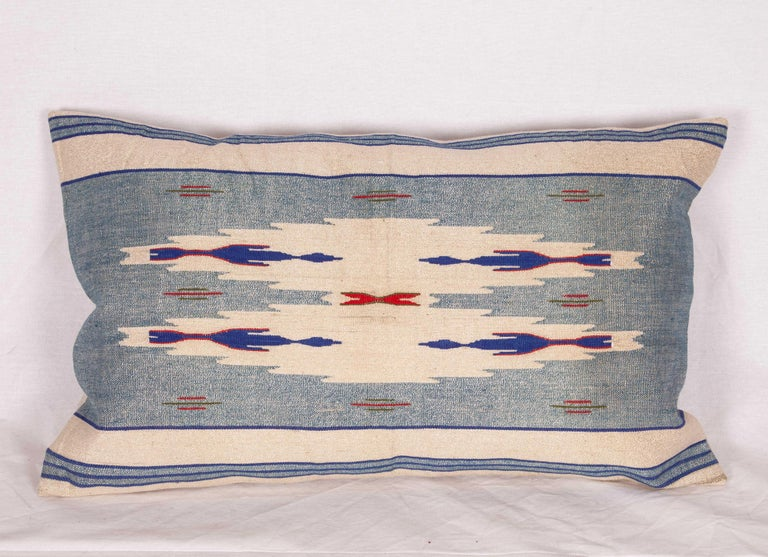 Cotton Pillow Cases Fashioned from an Early 20th Century Syrian Textile For Sale