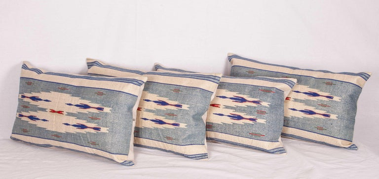 Pillow Cases Fashioned from an Early 20th Century Syrian Textile For Sale 2