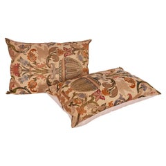 Pillow Cases Fashioned from an Italian Antique Italian Brocade