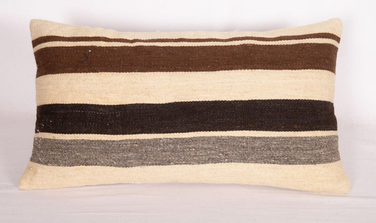 Hand-Woven Pillow Cases Made from Anatolian Angora Siirt Blanket, 1960s-1970s For Sale