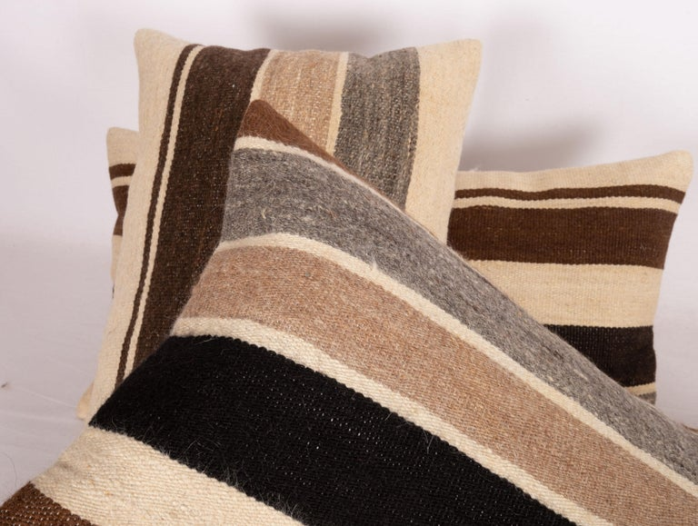 20th Century Pillow Cases Made from Anatolian Angora Siirt Blanket, 1960s-1970s For Sale