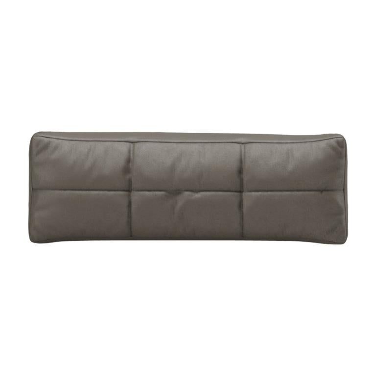 Pillow Contemporary by Fabio Arcaini Velvet Leather Nabuk