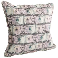 Pillow in Five-Dollar Bills by Johnny Swing, 2017