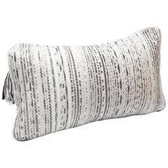Pillow in Woven Snakeskin by Kifu, Paris
