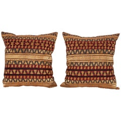 Pillows Fashioned from an Early 20th Century Indoesian Tapis