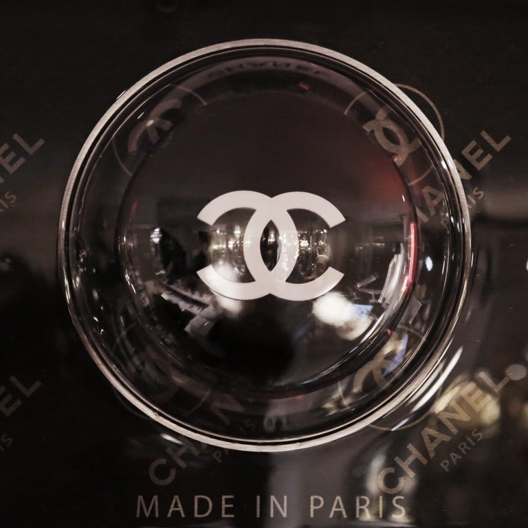 Contemporary Pills Chanel Black Panel Limited Edition For Sale
