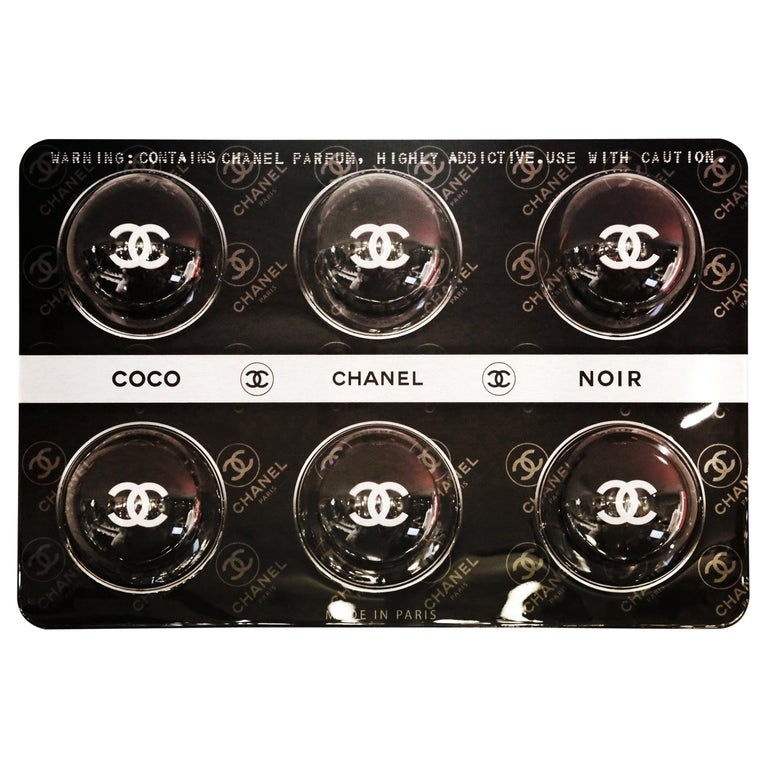 Pills Chanel Black Panel Limited Edition For Sale