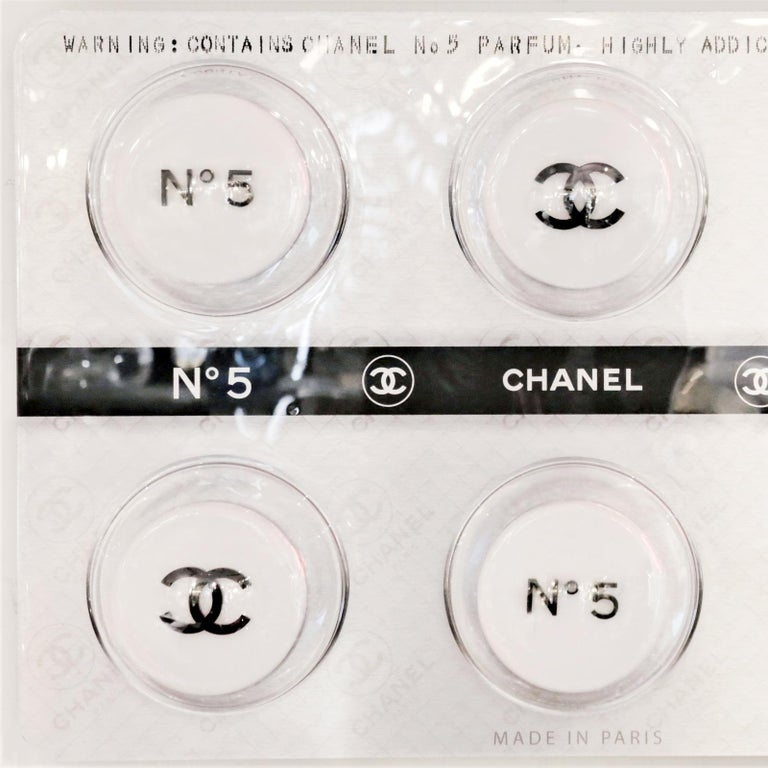 Dutch Pills Chanel White Panel Limited Edition For Sale