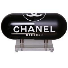 Pill Chanel Addict Black Sculpture