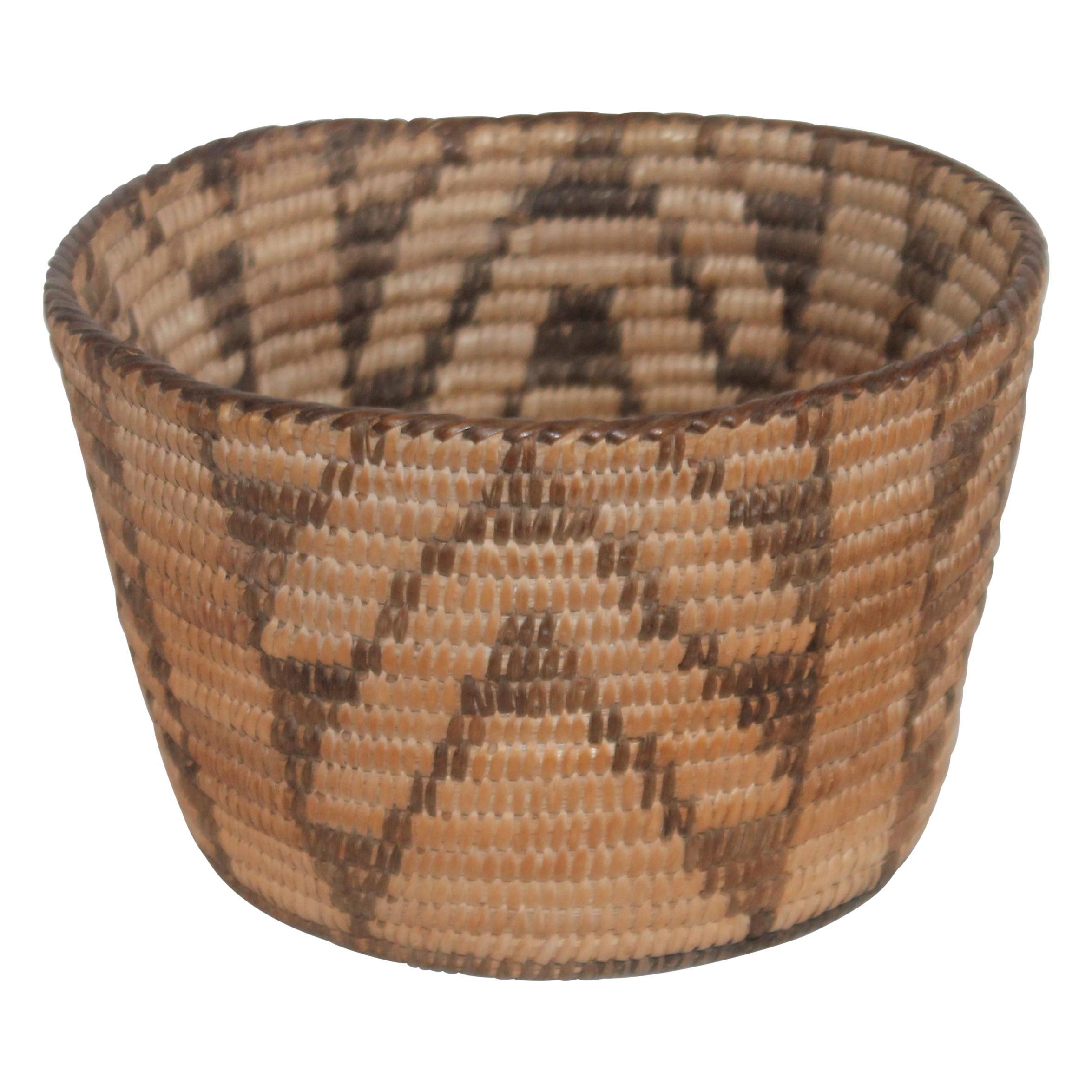 Pima American Indian Basket