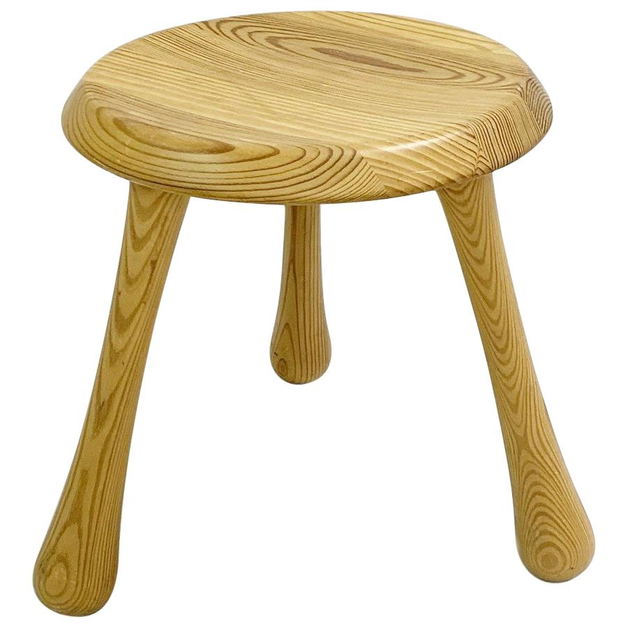 Pin Lacquered Milking Stool by Ingvar Kamprad for The VIP Habitat Series