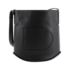 Pin Shoulder Bag Leather Large