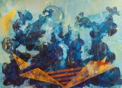 Free Like a Bird, Painting, Acrylic on Canvas