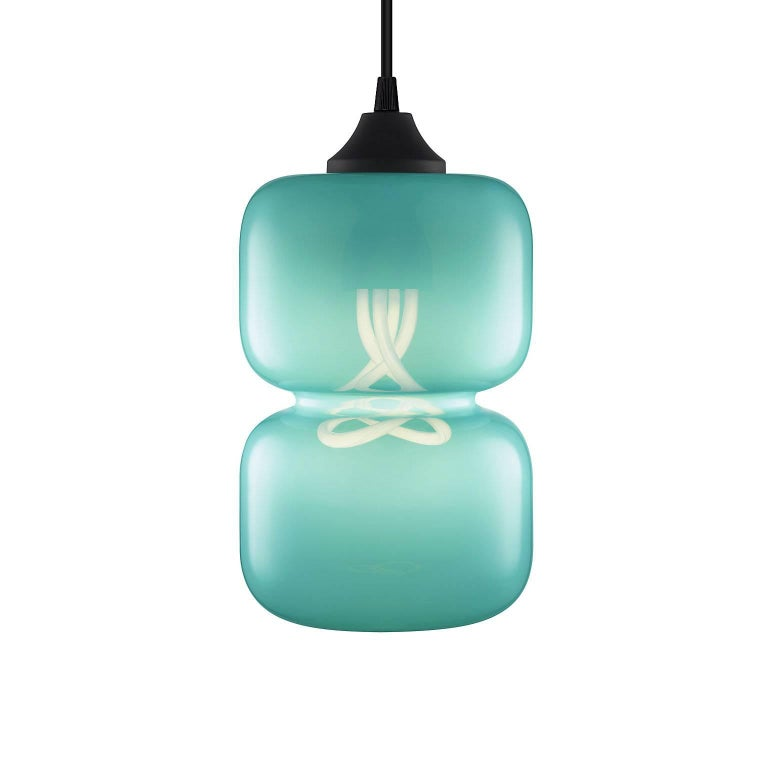 Pinch Chroma Cielo Handn Modern Gl Pendant Light Made In The Usa For