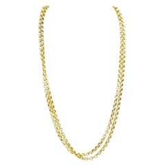 Pinchbeck Gold Chain from Victorian England