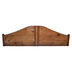 Pine and Oak Full Size Headboard