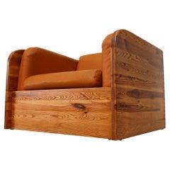 Pine Ate van Apeldoorn Crate Style Lounge Chair