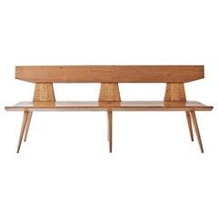 Pine Bench by Jacob Kielland-Brandt for I. Christiansen