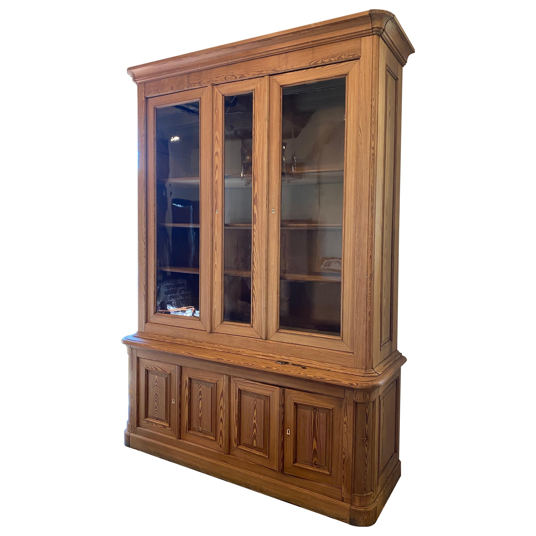 Pine Cabinet, France, 19th Century